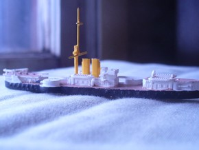 1/1250 Riachuelo Battleship in Smooth Fine Detail Plastic