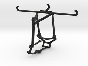 Controller mount for Steam & Oppo Reno3 Pro - Top in Black Natural Versatile Plastic