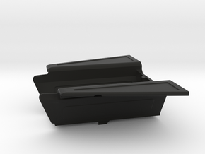 Drop Bed with Side Flaps for Axial Capra in Black Natural Versatile Plastic