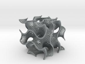 Gyroid in Polished Metallic Plastic