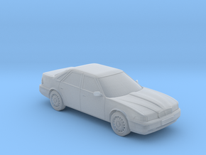 Rover 800 Mk2 Saloon  in Smooth Fine Detail Plastic: 1:76 - OO