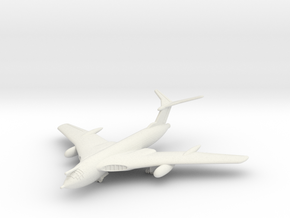 1/350 Handley Page Victor in White Natural Versatile Plastic
