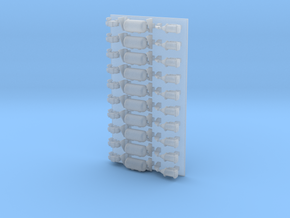 ABDX Brake Components (10 sets) with fabricated re in Smooth Fine Detail Plastic