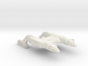 3788 Scale Lyran Refitted Panther-S (CLS) CVN in White Natural Versatile Plastic