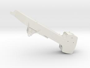 880EQ Ballastausleger / counter weight boom in White Natural Versatile Plastic: 1:87 - HO