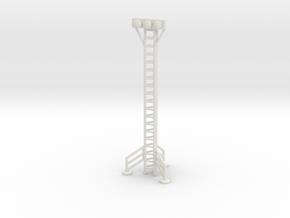 Space 1999 Hangar Light Tower - PE/1612 Scale in White Natural Versatile Plastic
