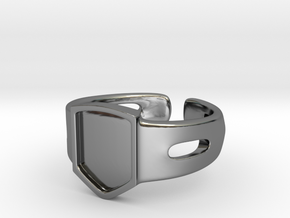 Signet Ring Blank 19mm in Premium Silver