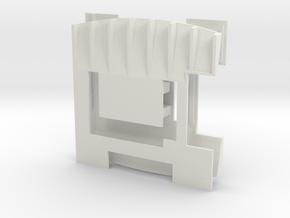 Diffuser for PN MR2395 12° SC_Domestic x2 in White Natural Versatile Plastic