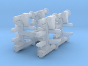 MILAN ATGM (x8) 1/144 in Smooth Fine Detail Plastic