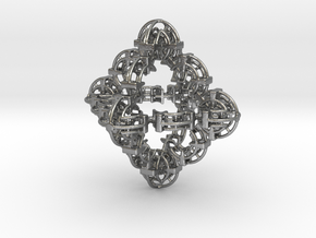 Fractal Geom TF4 in Natural Silver