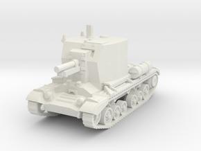 Bishop Tank 1/76 in White Natural Versatile Plastic