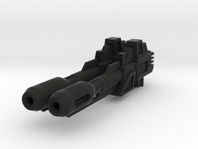 [Stock ver.] CW/UW Defensor Fireball Cannons in Black Natural Versatile Plastic