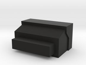 Beta Project AK Mag Well Plug (No Snag Reloading) in Black Natural Versatile Plastic