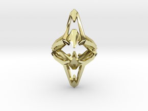 Conquest, Pendant in 18k Gold