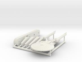 6k Battleship refit Excelsior in White Natural Versatile Plastic