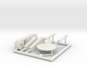 6K Loknar Class frigate in White Natural Versatile Plastic