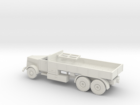 1/87 Faun D900 open cab in White Natural Versatile Plastic