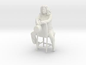 Printle C Femme 680 - 1/32 - wob in White Natural Versatile Plastic