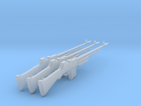 BAR M1918 x3 1/12 in Smooth Fine Detail Plastic