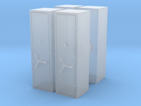 Large Safe (x4) 1/100 in Smooth Fine Detail Plastic