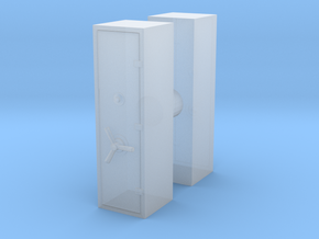 Large Safe (x2) 1/72 in Smooth Fine Detail Plastic