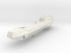Lancer-class frigate in White Natural Versatile Plastic