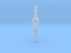 Resident Evil 2 Remake Bishop Plug chess in Smooth Fine Detail Plastic