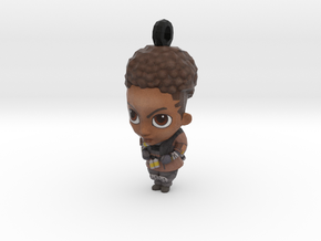 Bangalore BobbleHead - Charms Apex Legends in Natural Full Color Sandstone