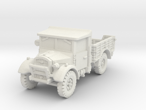 Fordson WOT-2E (open) 1/72 in White Natural Versatile Plastic
