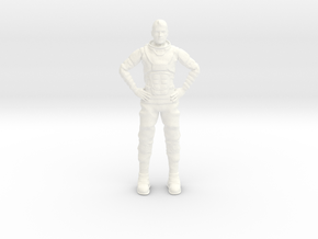 Lost in Space - Netflix - John in White Processed Versatile Plastic