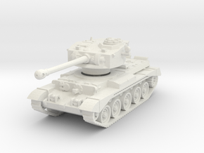 Comet Tank 1/76 in White Natural Versatile Plastic