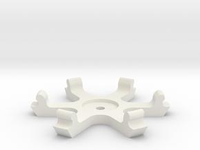 Dremel bezel jig in White Natural Versatile Plastic