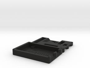 Kryoflux Case in Black Natural Versatile Plastic