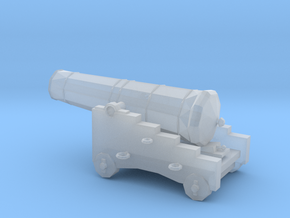 1/72 Scale 24 Pounder Naval Gun in Smooth Fine Detail Plastic