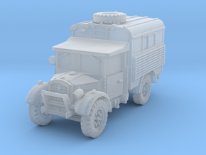 Fordson WOT-2D Radio 1/200 in Smooth Fine Detail Plastic