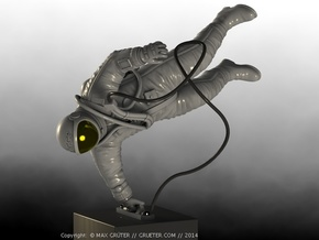 Cosmonaut Alexey Leonov (1:24, 7 Parts) in White Strong & Flexible