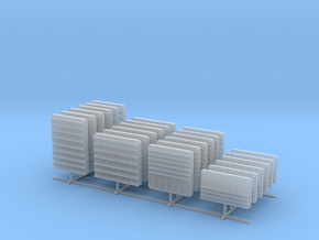 1/96 DKM Louvers 3 Set x24 in Smooth Fine Detail Plastic