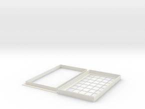 Fenster-Schuppen in White Natural Versatile Plastic