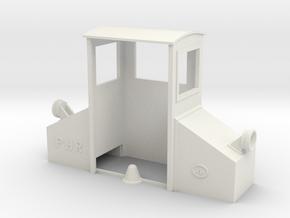 16m Scale PHR 4 Body in White Premium Versatile Plastic