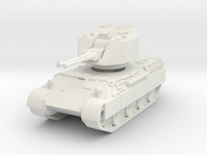 Flakpanzer V Coelian 1/87 in White Natural Versatile Plastic