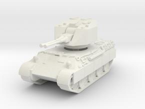 Flakpanzer V Coelian 1/120 in White Natural Versatile Plastic