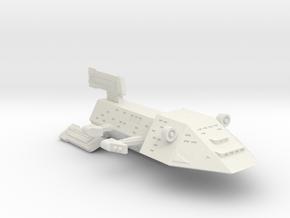 3125 Scale Kzinti Command Cruiser (CC) SRZ in White Natural Versatile Plastic