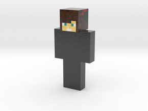 EvHead95 | Minecraft toy in Glossy Full Color Sandstone