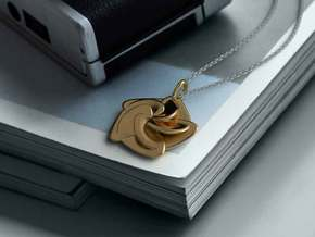 Lotus in Polished Bronze