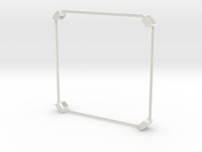 Mac mini stack in White Natural Versatile Plastic