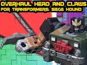 Overhaul Kit for Siege Hound in Smooth Fine Detail Plastic