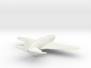 MiG-3 WW2 Soviet Fighter in White Natural Versatile Plastic: 1:100