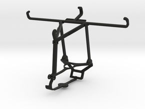 Controller mount for Steam & Realme X50 5G - Top in Black Natural Versatile Plastic