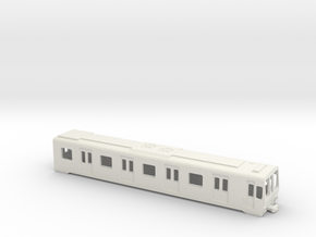 Carcasa S5000 AC Metro Madrid Subway H0 in White Natural Versatile Plastic