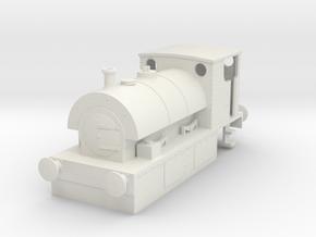 b-87-guinness-hudswell-clarke-steam-loco in White Natural Versatile Plastic